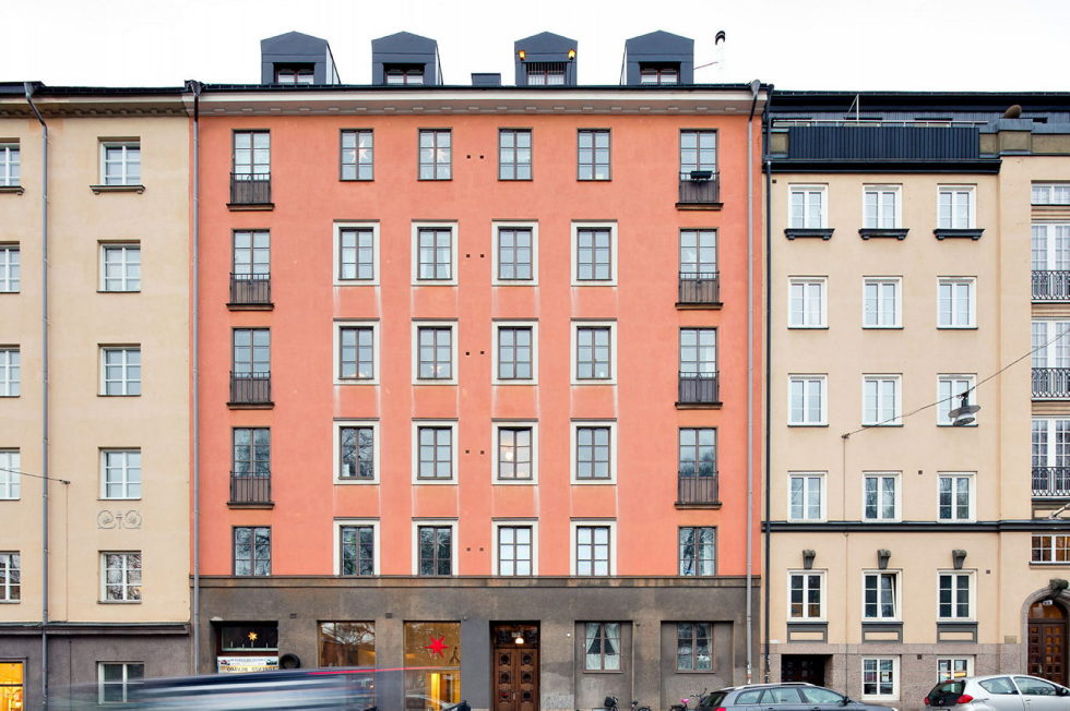 The apartment in Sweden as an example of the Scandinavian style 2