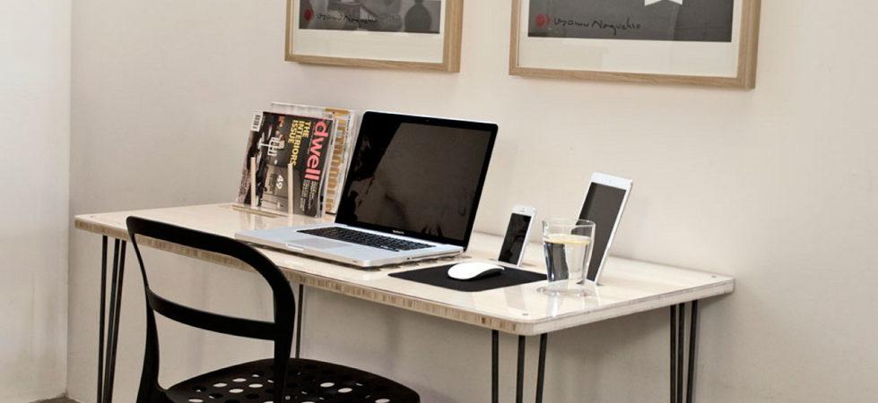 The computer desk SlatePro by Nathan Mummert