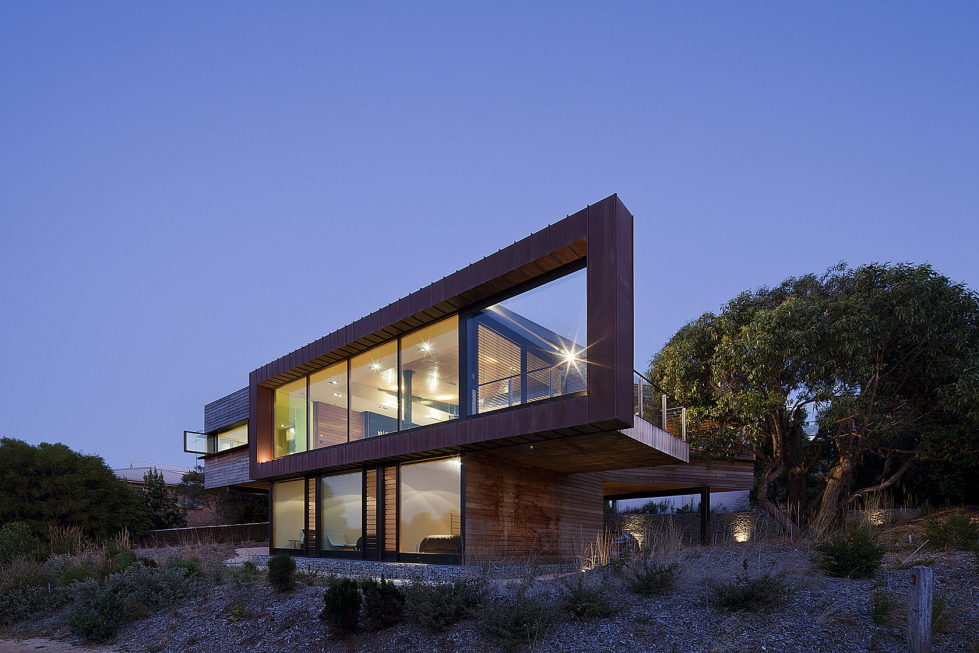 The country house Dame of Melba for resting at the ocean shore from Seeley Architects 10