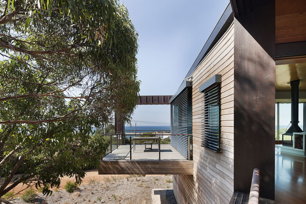 The country house Dame of Melba for resting at the ocean shore from Seeley Architects 12