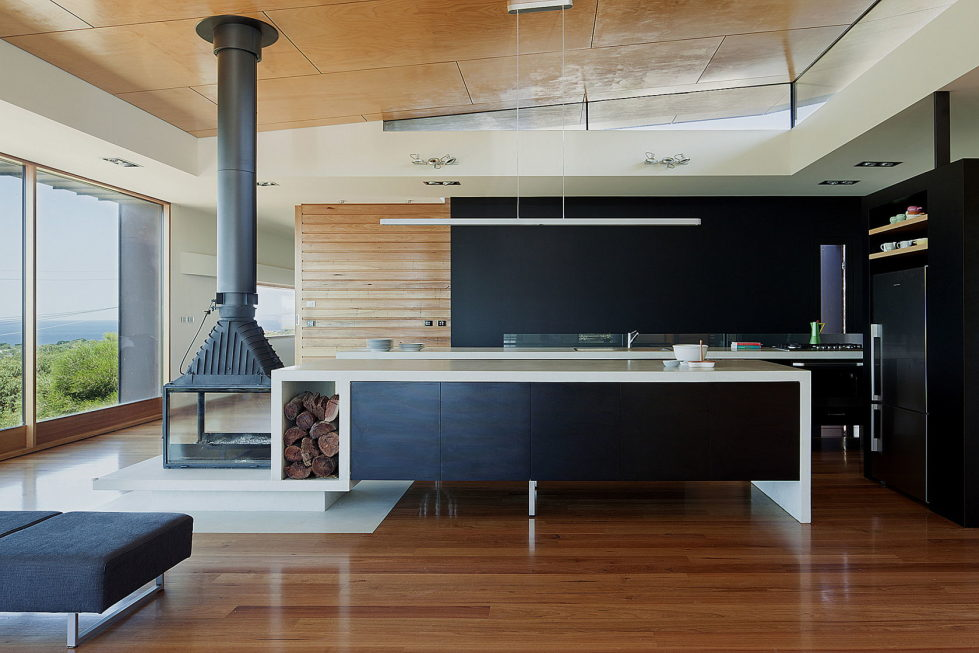 The country house Dame of Melba for resting at the ocean shore from Seeley Architects 3