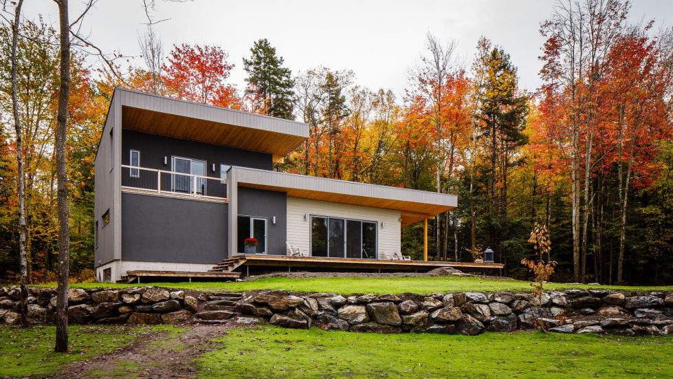 The country house in Canada from the BOOM TOWN studio 1