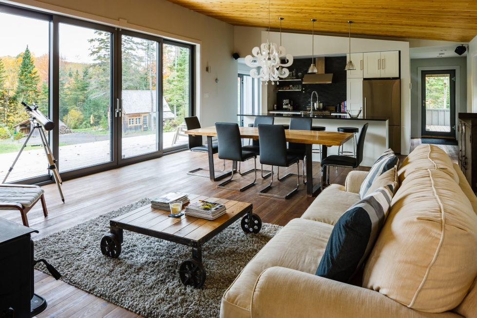 The country house in Canada from the BOOM TOWN studio 11