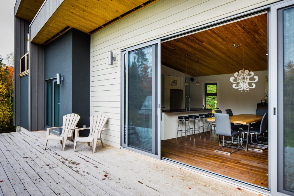 The country house in Canada from the BOOM TOWN studio 13