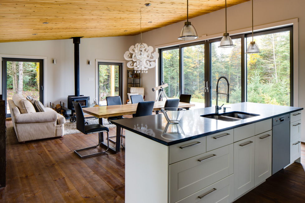 The country house in Canada from the BOOM TOWN studio 14