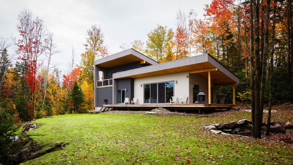 The country house in Canada from the BOOM TOWN studio 3