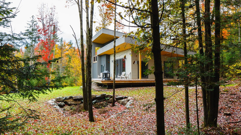 The country house in Canada from the BOOM TOWN studio 4