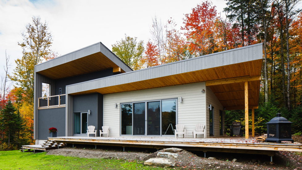 The country house in Canada from the BOOM TOWN studio 7