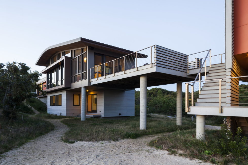 The country house on the sand dunes of Cape Cod, United States 9