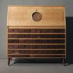 The desk Tempel for radio amateur by Love Hultén
