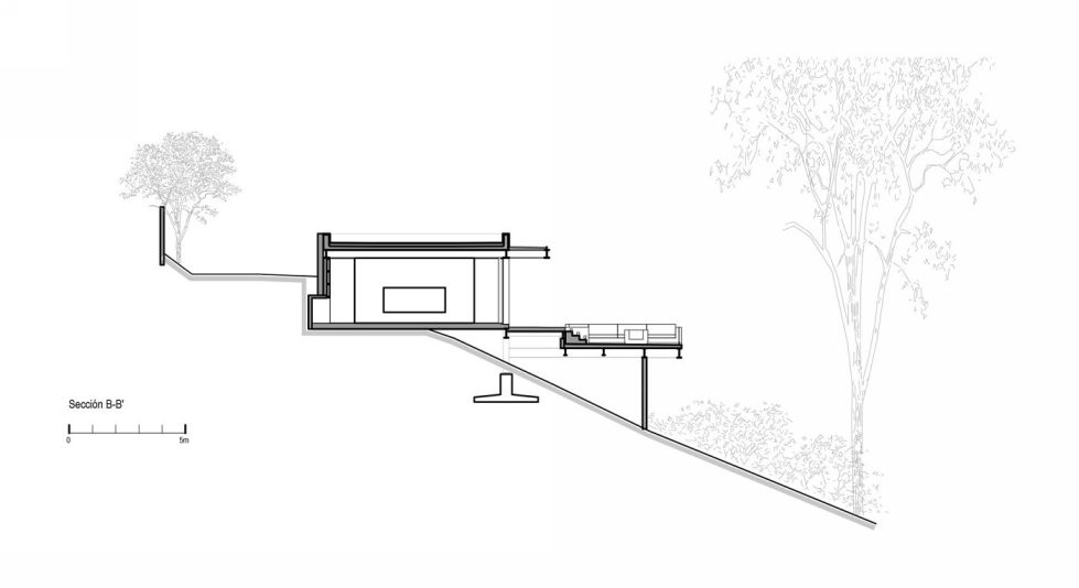 The mansion for holidays in Mexico from the CC Arquitectos company 24