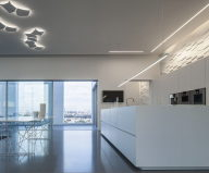 The penthouse from the Pitsou Kedem studio in Tel Aviv, Israel