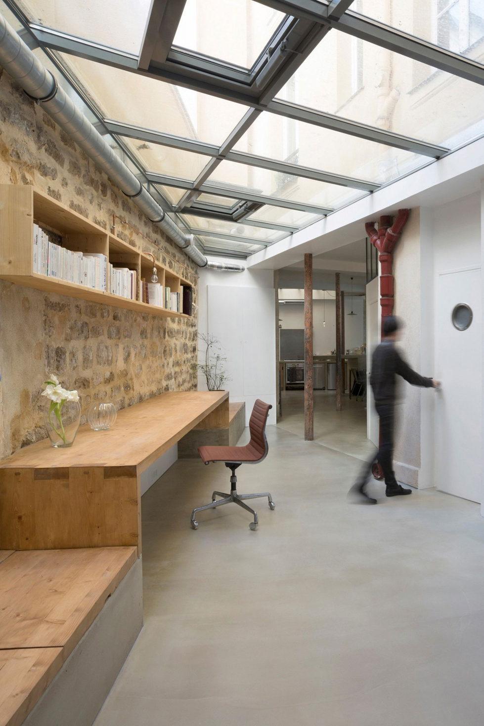 Unusual Loft In Paris From Maxime Jansens Studio 11
