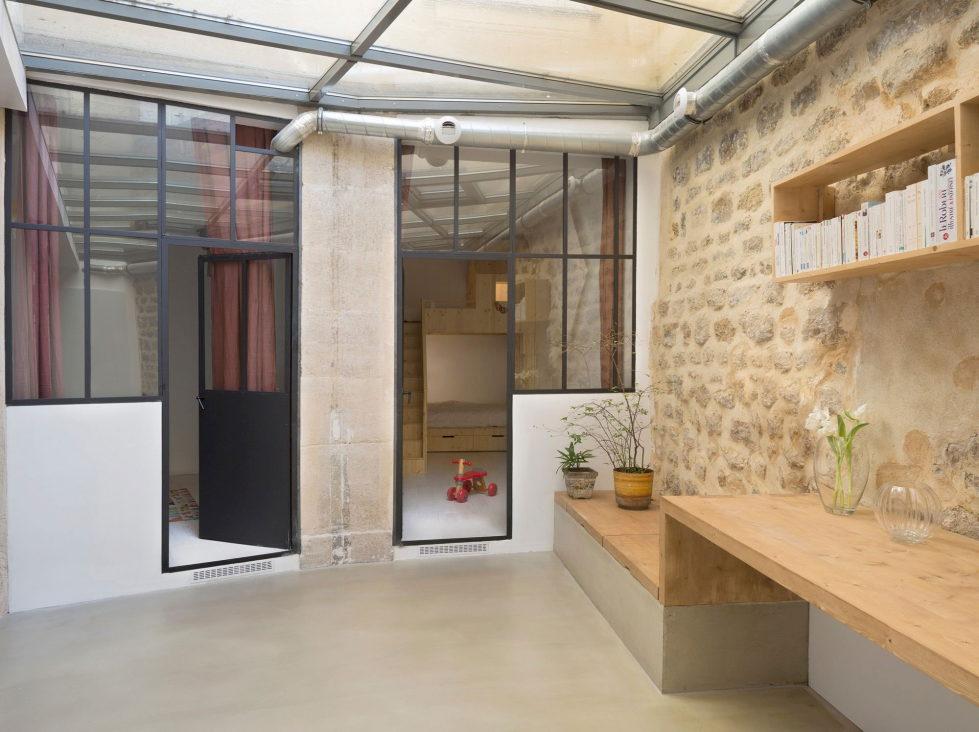Unusual Loft In Paris From Maxime Jansens Studio 13