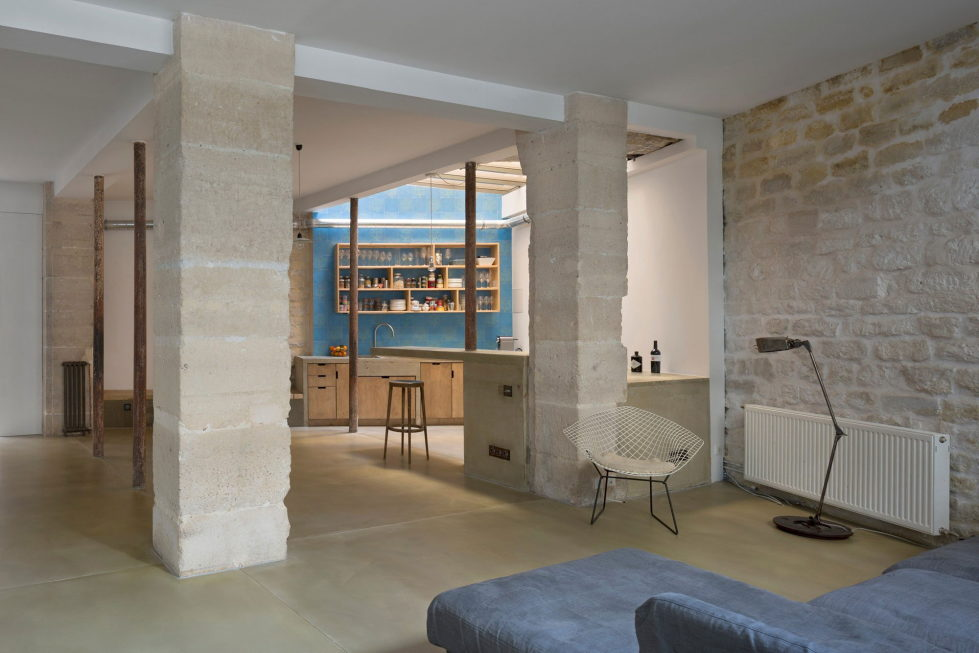 Unusual Loft In Paris From Maxime Jansens Studio 2