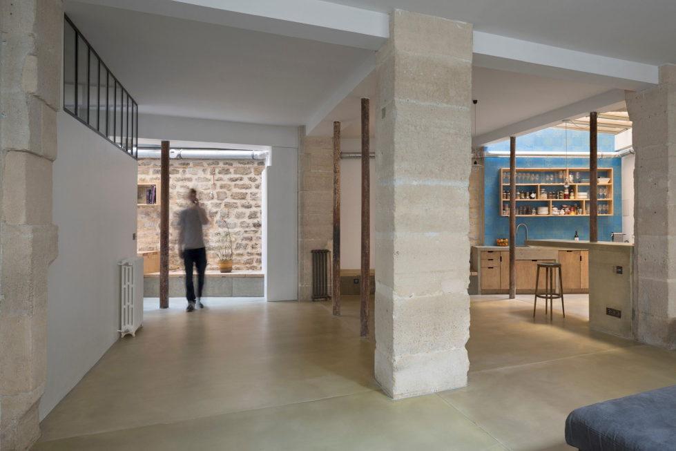 Unusual Loft In Paris From Maxime Jansens Studio 3