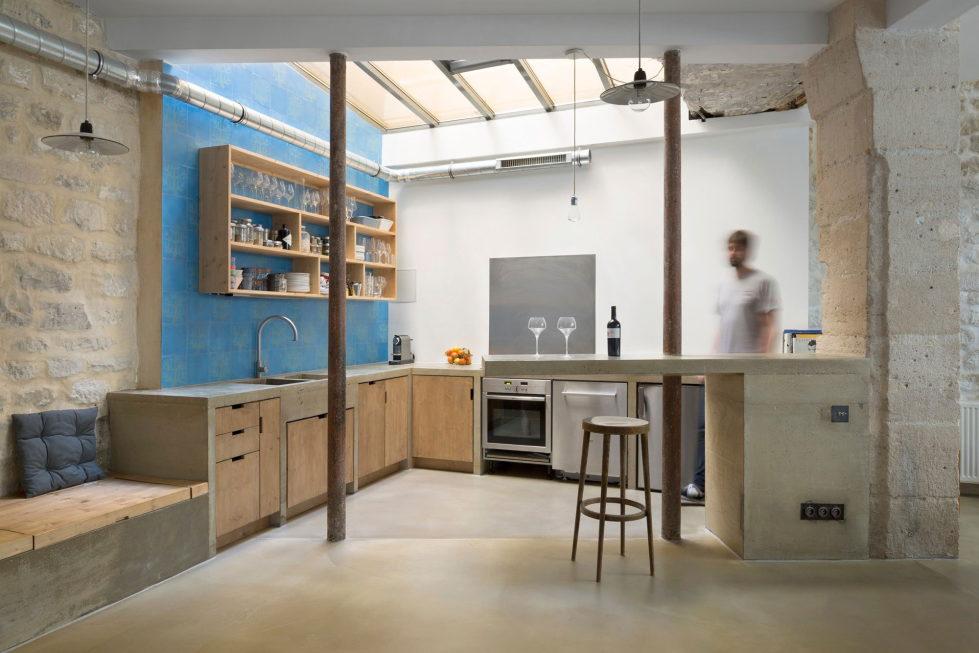 Unusual Loft In Paris From Maxime Jansens Studio 5