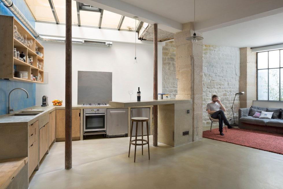 Unusual Loft In Paris From Maxime Jansens Studio 7