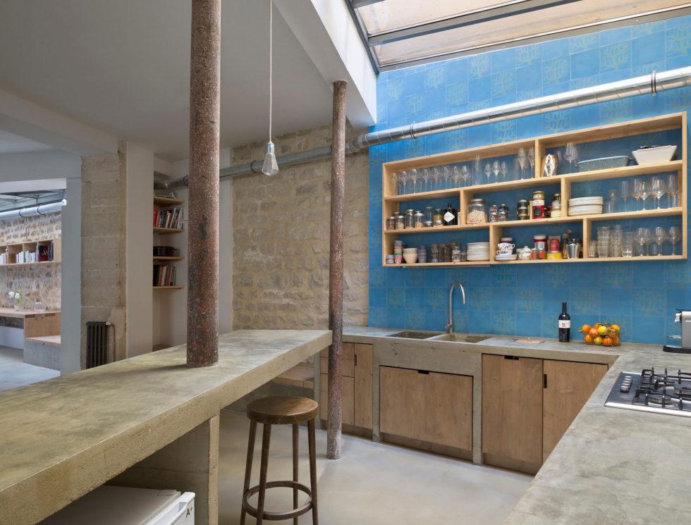 Unusual Loft In Paris From Maxime Jansens Studio 8