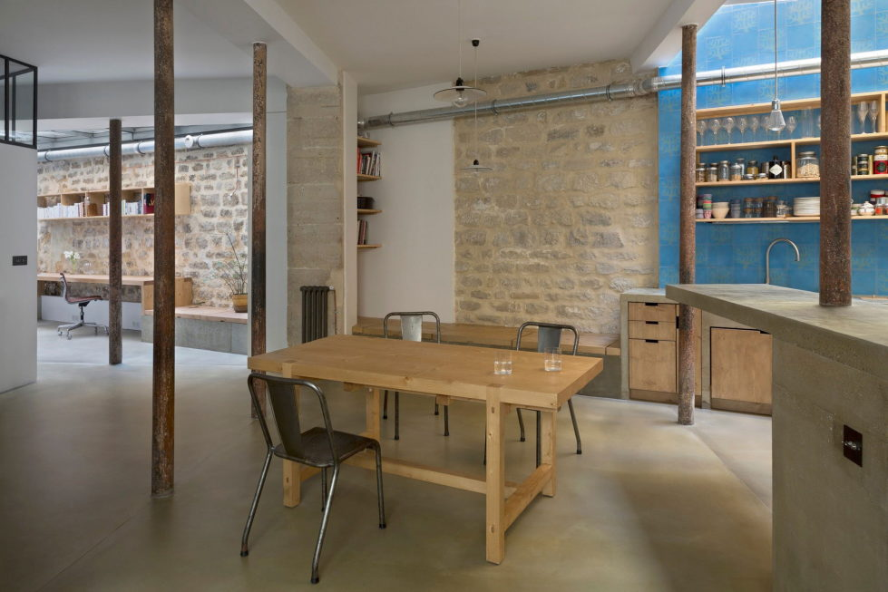 Unusual Loft In Paris From Maxime Jansens Studio 9