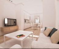 Apartment With Elegant Interior From Carlo Pecorini Studio On The Coast Of Tyrrhenian Sea In Italy