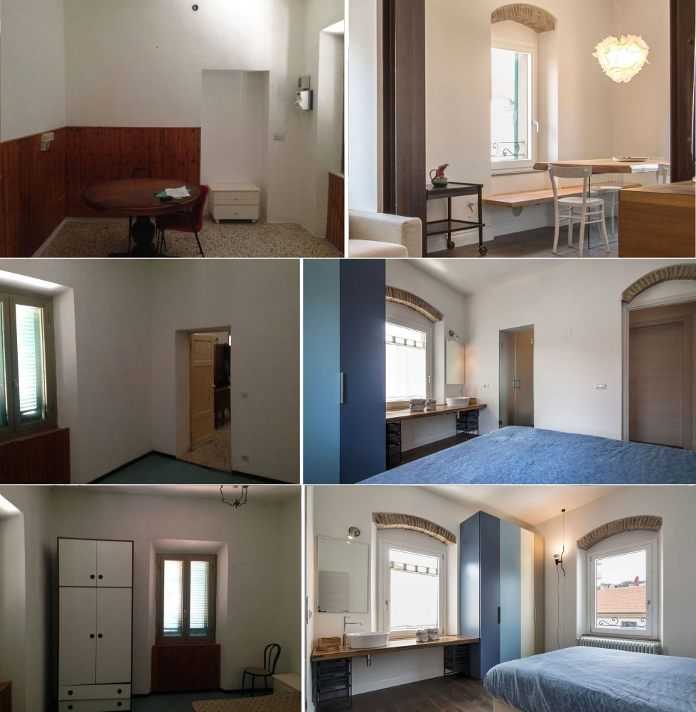 Apartment With Elegant Interior From Carlo Pecorini Studio Before and After 1