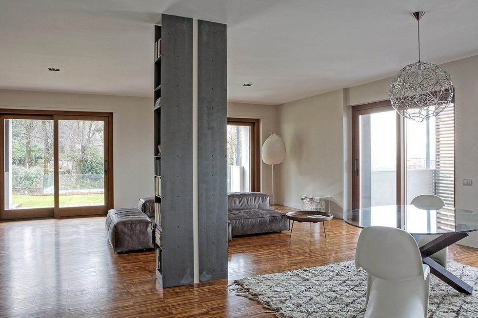 Apartments With Fabulous Garden In Turin From MG2 ARCHITETTURE 2