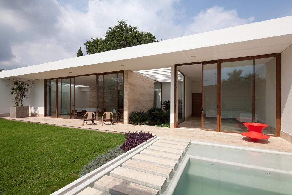 Casa Ocho Jardines Residency In Minimalism Style From Goko MX Studio 1
