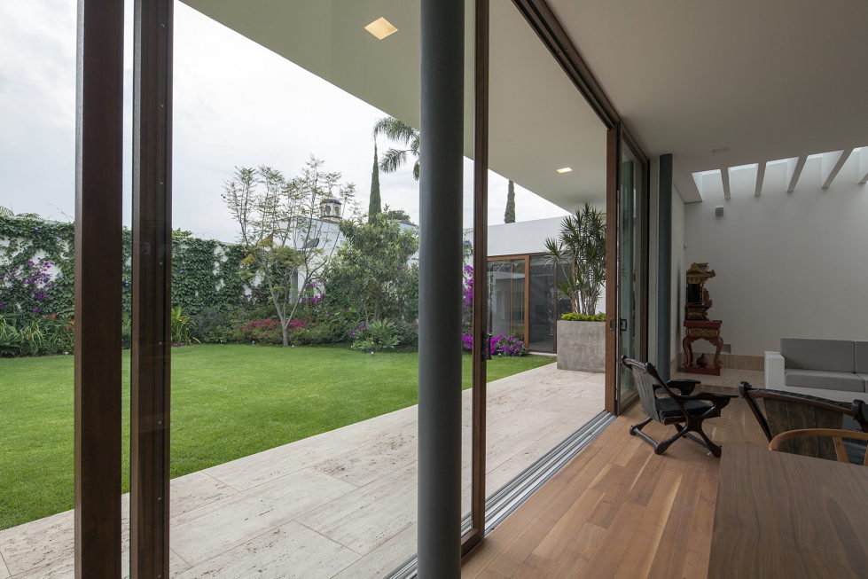 Casa Ocho Jardines Residency In Minimalism Style From Goko MX Studio 10