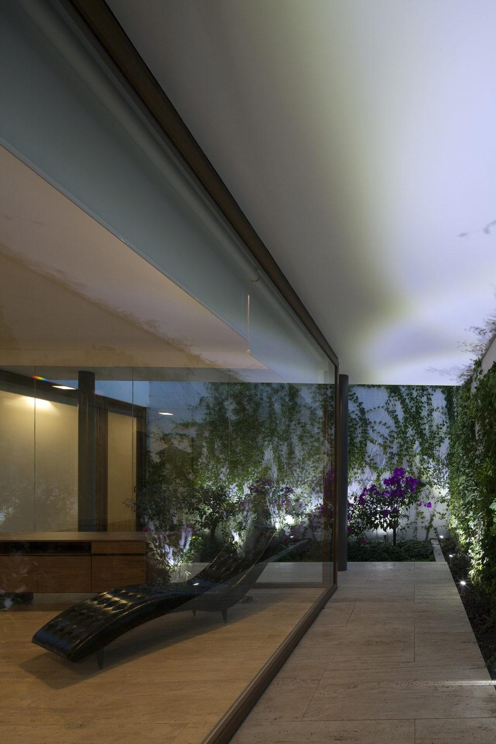 Casa Ocho Jardines Residency In Minimalism Style From Goko MX Studio 15