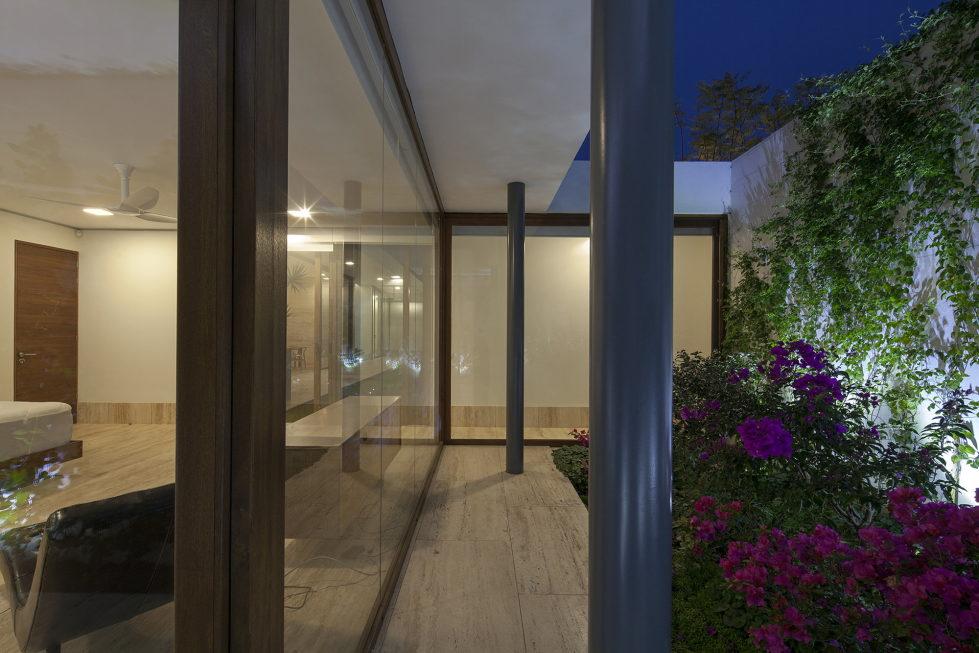 Casa Ocho Jardines Residency In Minimalism Style From Goko MX Studio 16