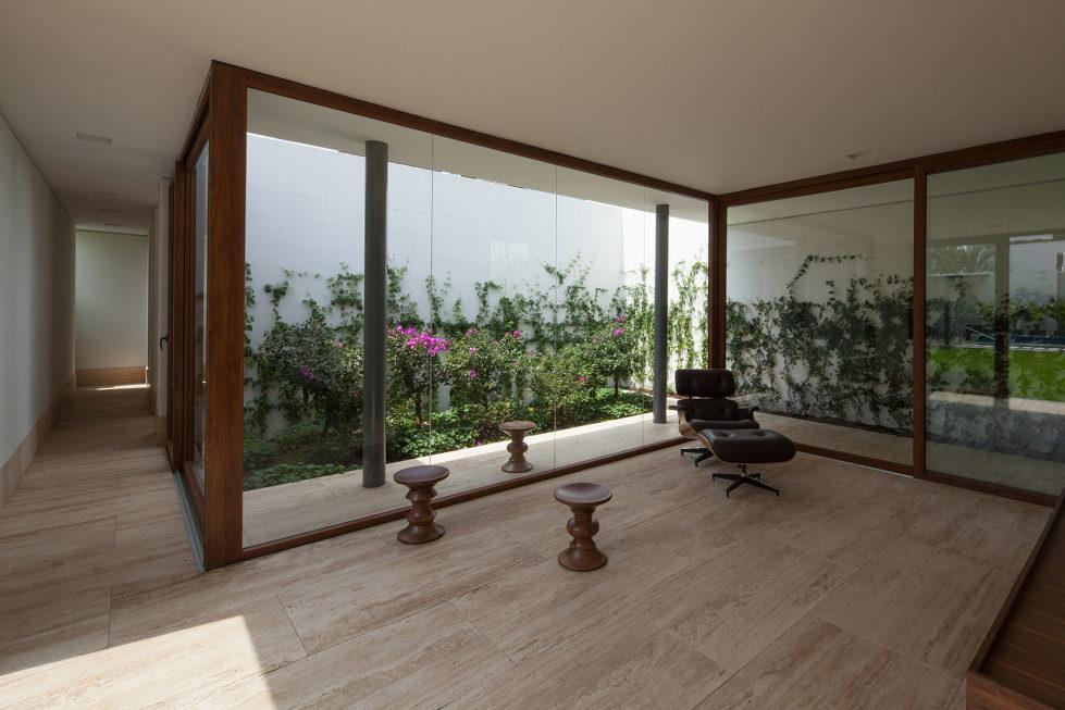 Casa Ocho Jardines Residency In Minimalism Style From Goko MX Studio 2