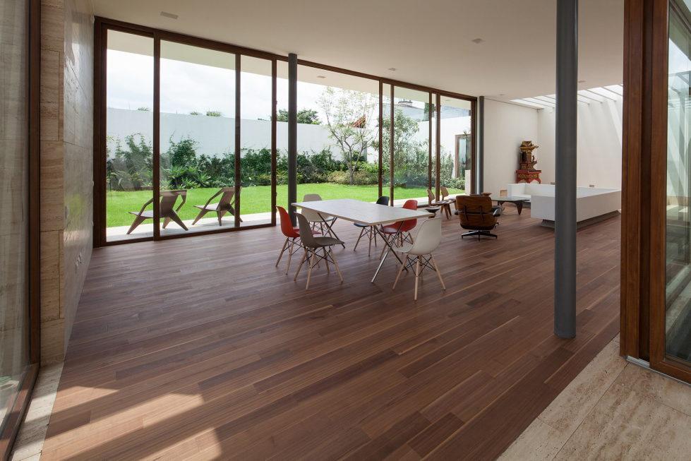 Casa Ocho Jardines Residency In Minimalism Style From Goko MX Studio 3