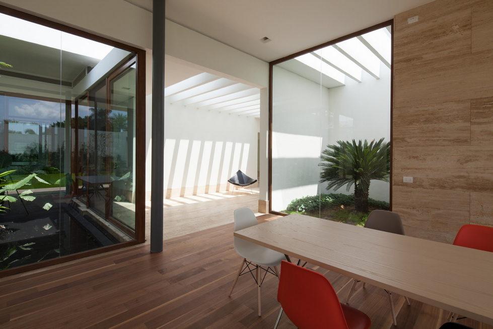 Casa Ocho Jardines Residency In Minimalism Style From Goko MX Studio 4