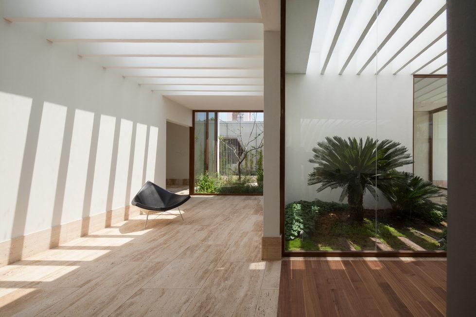 Casa Ocho Jardines Residency In Minimalism Style From Goko MX Studio 5