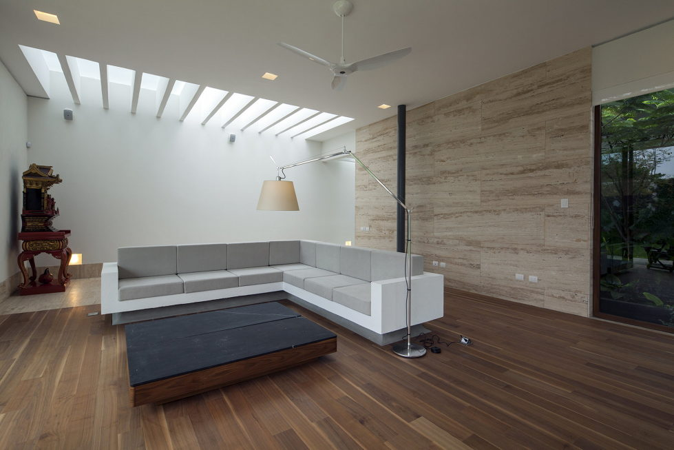 Casa Ocho Jardines Residency In Minimalism Style From Goko MX Studio 6