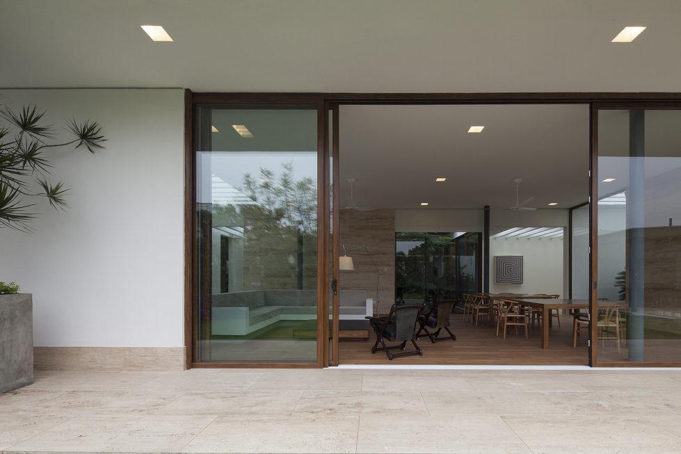 Casa Ocho Jardines Residency In Minimalism Style From Goko MX Studio 7