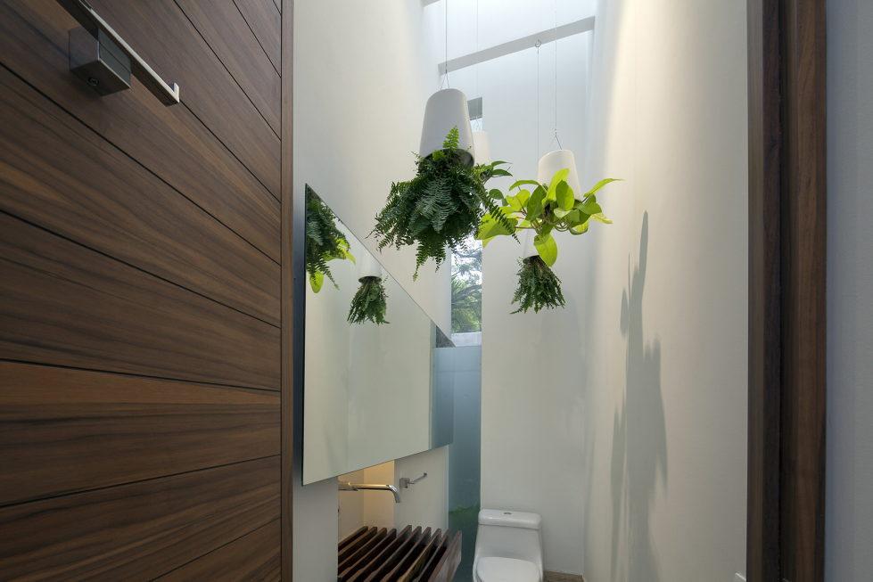 Casa Ocho Jardines Residency In Minimalism Style From Goko MX Studio 8