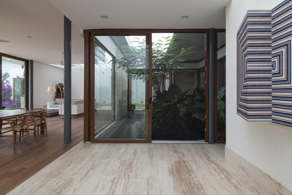 Casa Ocho Jardines Residency In Minimalism Style From Goko MX Studio 9