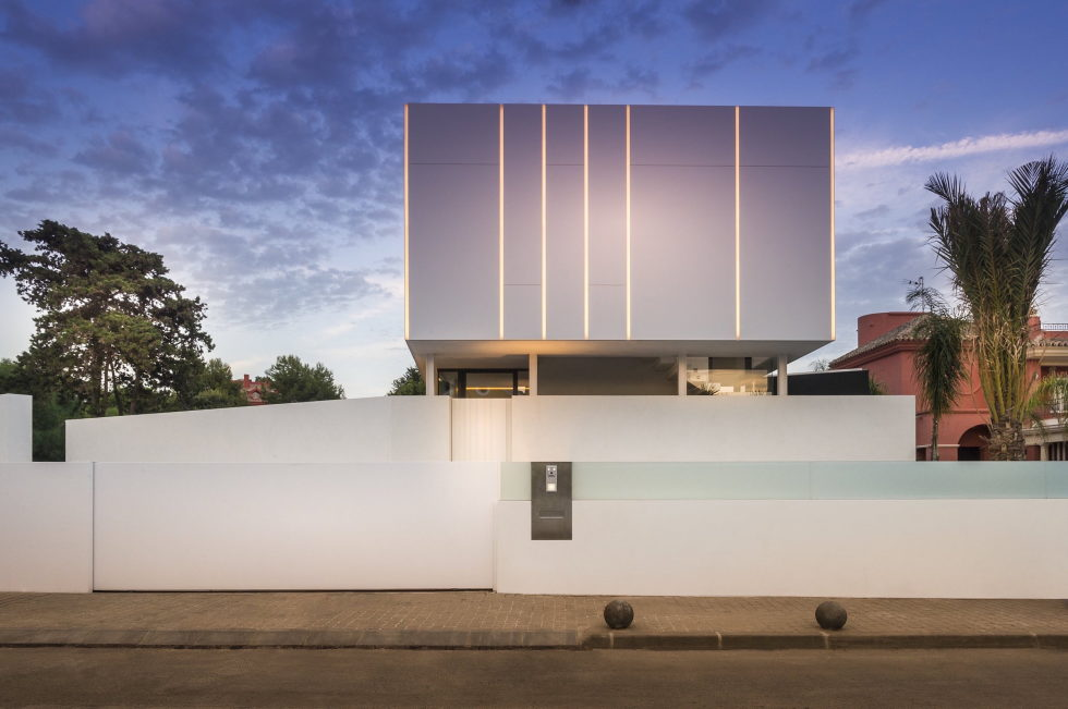 Cool Blue Villa In Spain Upon The Project Of 123DV Architect Company 2