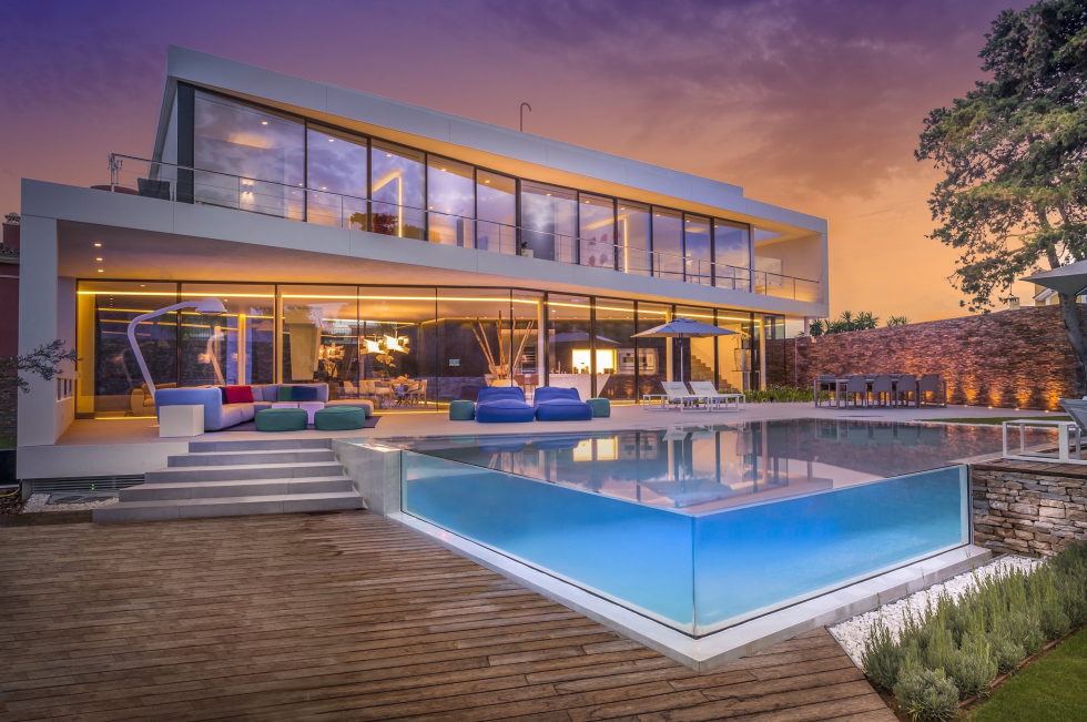 Cool Blue Villa In Spain Upon The Project Of 123DV Architect Company 3