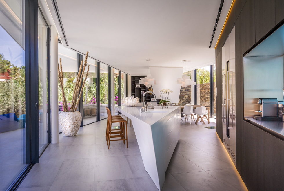 Cool Blue Villa In Spain Upon The Project Of 123DV Architect Company 6