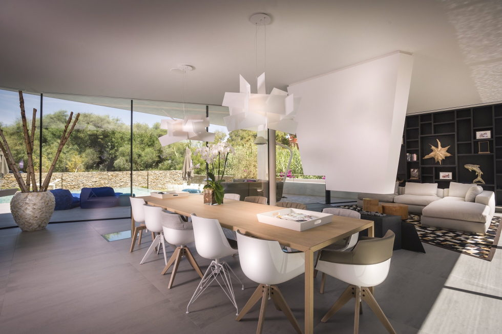 Cool Blue Villa In Spain Upon The Project Of 123DV Architect Company 7