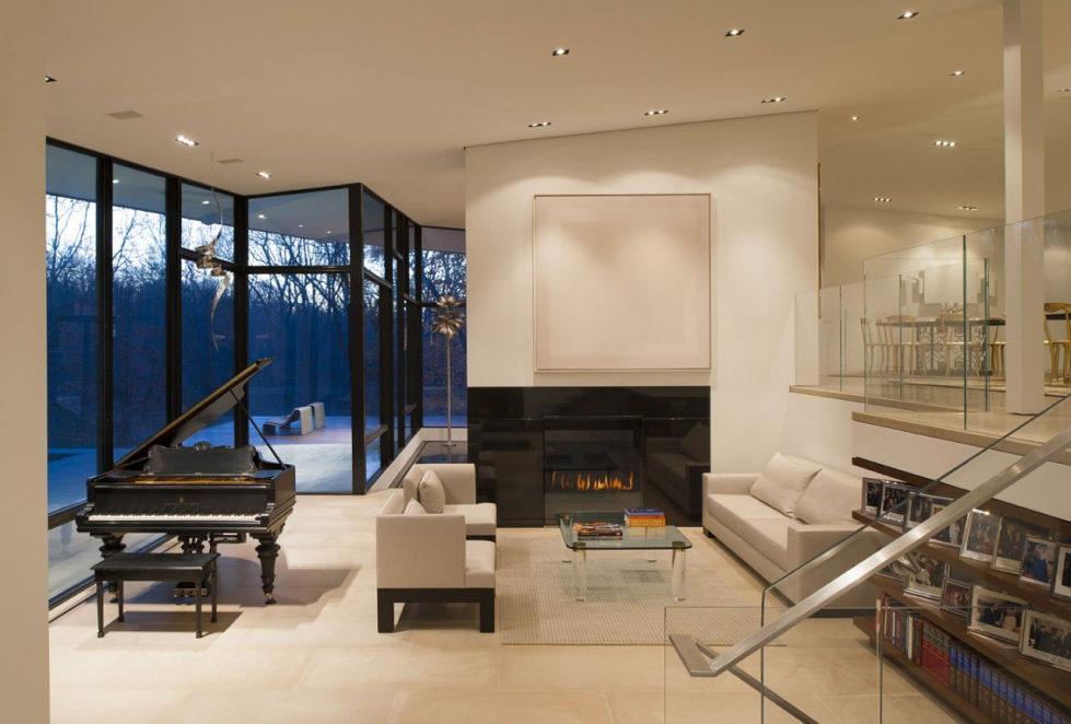beautiful Family Room Reconstruction idea
