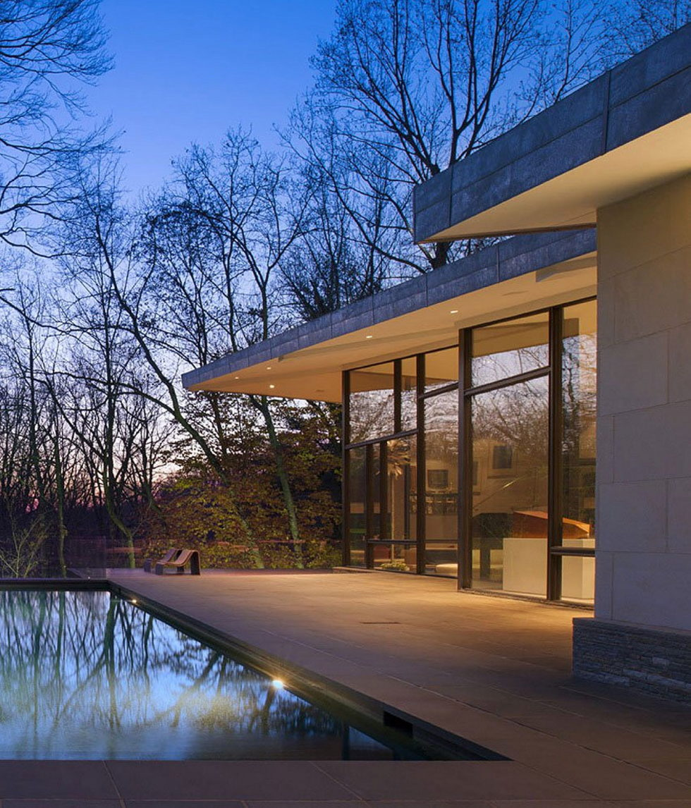 Difficult Run Family House Reconstruction in Virginia Upon The Project Of Robert M. Gurney Architect 22