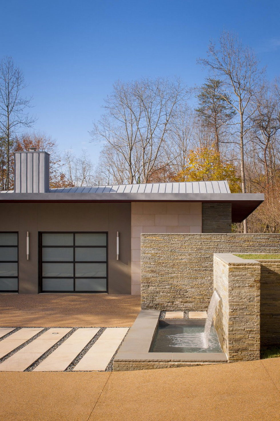 Difficult Run Family House Reconstruction in Virginia Upon The Project Of Robert M. Gurney Architect 5