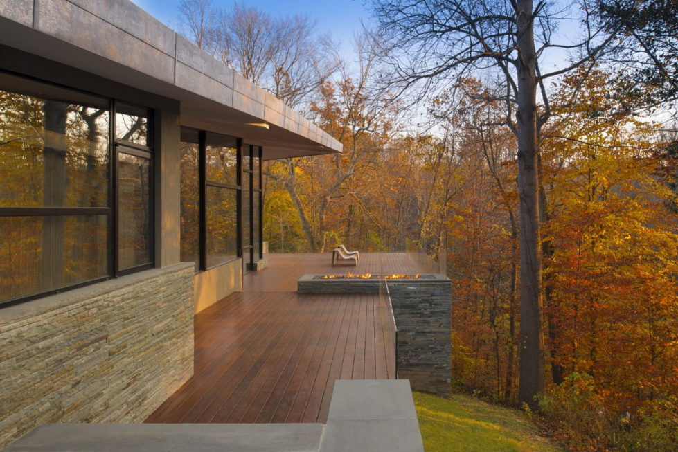 Difficult Run Family House Reconstruction in Virginia Upon The Project Of Robert M. Gurney Architect 9