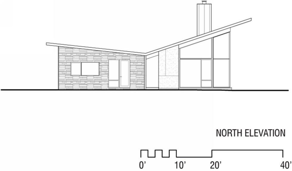 Difficult Run Family House Reconstruction in Virginia Upon The Project Of Robert M. Gurney Architect - Plan 15