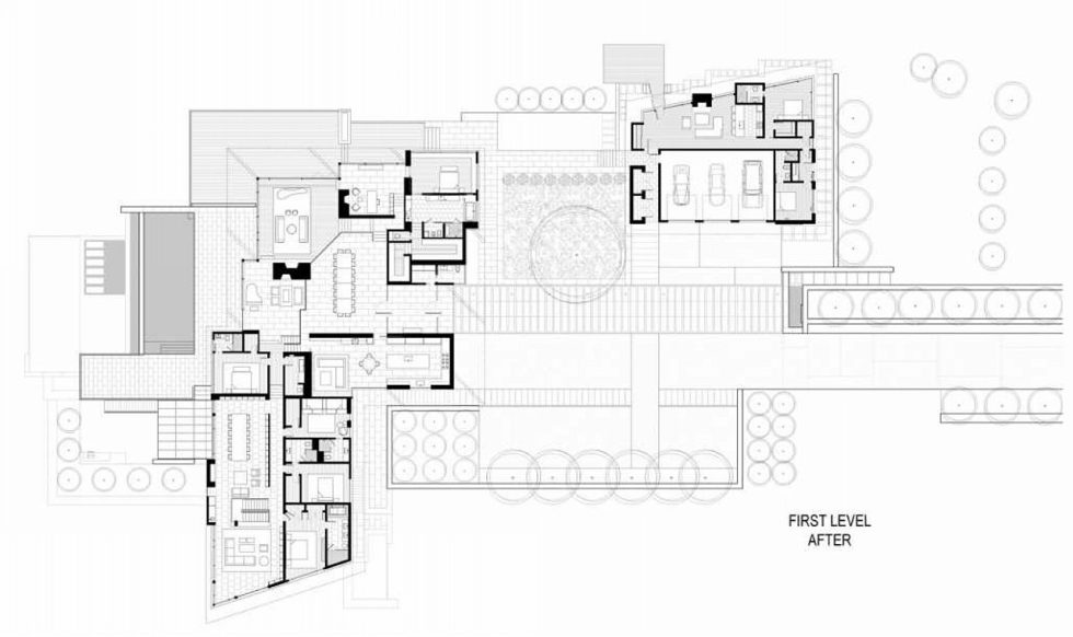 Difficult Run Family House Reconstruction in Virginia Upon The Project Of Robert M. Gurney Architect - Plan 5