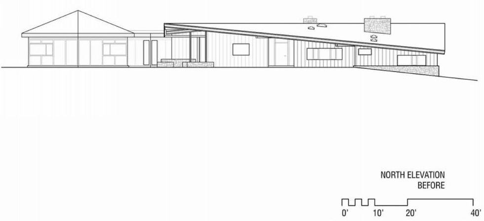 Difficult Run Family House Reconstruction in Virginia Upon The Project Of Robert M. Gurney Architect - Plan 9